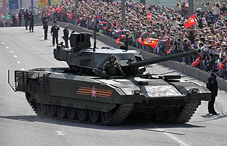 T-14 Armata - The T-14 Armata tank in the 2015 Moscow Victory Day Parade.