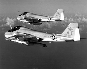 A-6E Intruders VA-75 in flight 1982.JPEG
