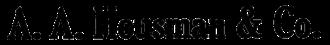 E. A. Pierce & Co. - Image: AA Housman 1917 logo