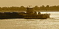 AEP River Operations barges on the Mississippi River, Vacherie LA.jpg