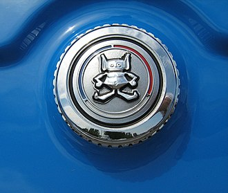 AMC Gremlin - AMC Gremlin logo on gas cap