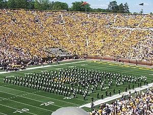 Appalachian State University Marching Mountaineers - Image: ASU BOD 2007 09 01