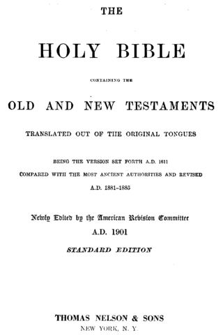 standard title page