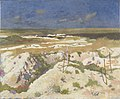 A Grave and a Mine Crater at La Boisselle, August 1917 Art.IWMART2378.jpg