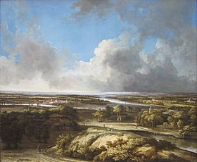 A Panoramic Landscape by Philips Koninck, Getty Center.JPG