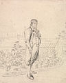 A Sketch of Sir Walter Scott in a Garden by Joseph Slater.jpg