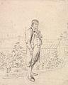 A Sketch of Sir Walter Scott in a Garden by Joseph Slater.jpg