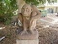 A Statue by Jacob Louchansky in Givat Brenner , Israel.jpg