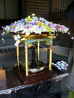 A birthday of Buddha,hanamatsuri,kanpukuji-temple,katori-city,japan