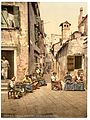 A court yard (Calle dell Angelo a San Martino), Venice, Italy-LCCN2001701034.jpg