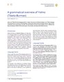 A grammatical overview of Yolmo (Tibeto-Burman).pdf
