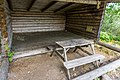 A hiking shelter by the lake Gisslaren, Upplandsleden, Sweden 23.jpg