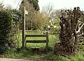 A stile along Heath Road - geograph.org.uk - 756261.jpg