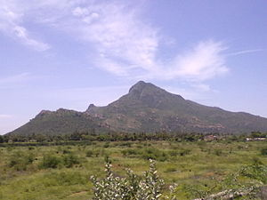 Tiruvannamalai district - The sacred Arunachala hill, Tiruvannamalai