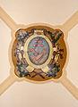 Abbaye Saint-Martin-des-Glandières, clef de voûte du palais abbatial..jpg
