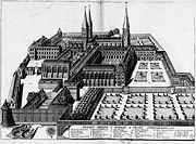 Abbaye Saint Germain des Prés en 1687.jpg