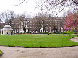 John A. Willox - Abercromby Square in Liverpool, where Willox died