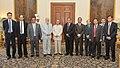 Abul Hassan Mahmood Ali along with his delegation members, called on the President, Shri Pranab Mukherjee, at Rashtrapati Bhavan, in New Delhi on September 19, 2014.jpg