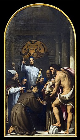 Accademia - Blessed Giovanni Giustiniani and Saints by Il Pordenone.jpg