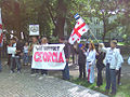 Action for the support of Georgia in Helsinki, Finland (9).jpg