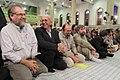 Activists of the Holy Defense Art meeting with Ali Khamenei (3).jpg