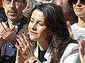 Acto preelectoral con Inés Arrimadas, del partido constitucionalista Ciudadanos, en Madrid, en la Plaza de la Villa, el 23 de febrero de 2019.jpg