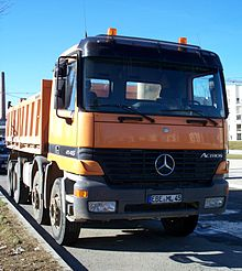 Mercedes Benz Actros Mobile Home Price