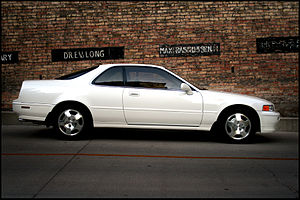 Clinton Acura on Thought It Was A Honda Acura Legend Front  But Can T Find A Picture