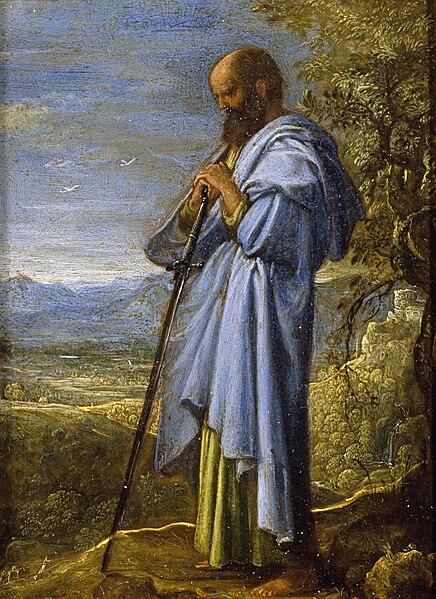 Adam Elsheimer - Saint Paul dans IMMAGINI (DI SAN PAOLO, DEI VIAGGI, ALTRE SUL TEMA) 436px-Adam_Elsheimer_-_Saint_Paul