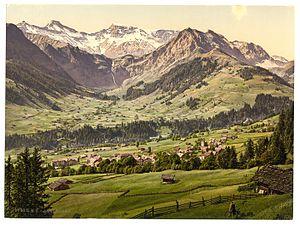 Adelboden - Adelboden in 1900