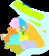 100px administrative division shanghai