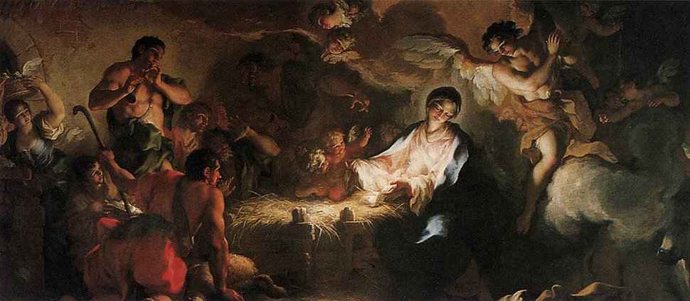 Adoration of the Shepherds 1707