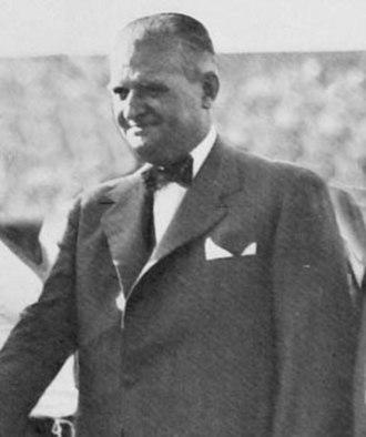 Argentine Football Association - Adrián C. Escobar (1939-41)