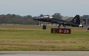 71st Fighter Training Squadron - Northrop T-38 adversarial trainer at Langley AFB