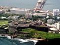 Aerial view of Castillo de San Cristobal, San Juan, Puerto Rico.jpg