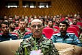 Afghan National Army (ANA) Gen. Sher Mohammad Karimi, center, serves as the guest of honor during a promotion ceremony for new ANA sergeants major in Kabul, Afghanistan, June 5, 2013 130605-F-OF869-003.jpg