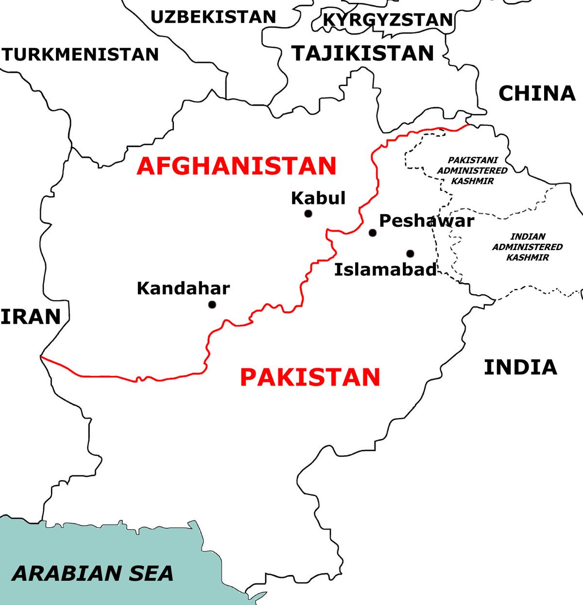 Durand Line Wikipedia