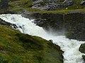 Afon Cwm Llan in spate - geograph.org.uk - 534705.jpg