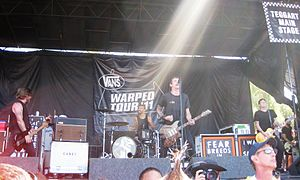 Against Me! at Warped tour 2011-08-09 01.jpg