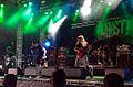 Aghast performing at Bloodstock Open Air 2014.jpg