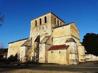 Agonac - The church in Agonac
