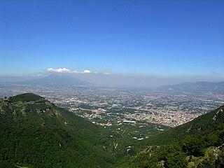 Agro Nocerino Sarnese geographical region in Campania, Italy