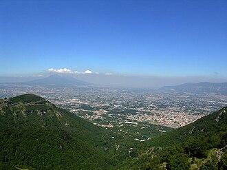 L'Agro nocerino-sarnese e la valle del Sarno.