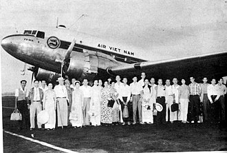 COSARA - A Air Vietnam C-47 similar to the former COSARA C-47s that were transferred to Air Vietnam