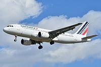 F-HBNK - A320 - Air France