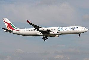 SriLankan Airlines - A Sri Lankan airlines A340-311 (4R-ADA)