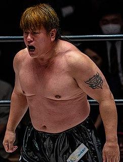 Akitoshi Saito Japanese professional wrestler (born 1965)