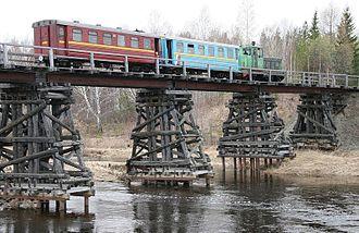 Sverdlovsk Oblast - Alapaevsk narrow-gauge railway