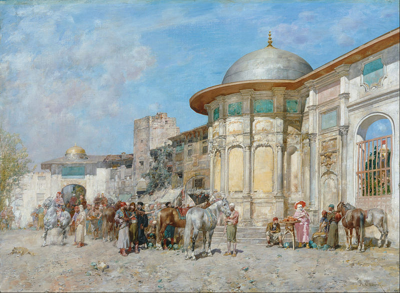 File:Alberto Pasini - Horse market, Syria - Google Art Project.jpg