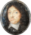 Alexander Cooper - Miniature portrait of Charles X, King of Sweden 1655-1660 - Google Art Project.png